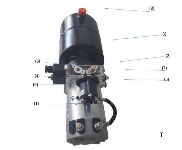 cấu tạo bộ nguồn thủy lực mini