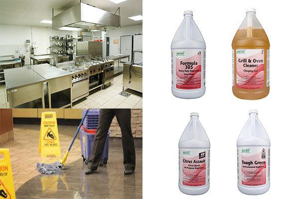 chất tẩy rửa dầu mỡ chuyên dụng