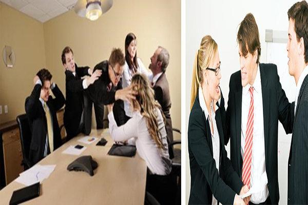 giải quyết xung đột trong đội ngũ