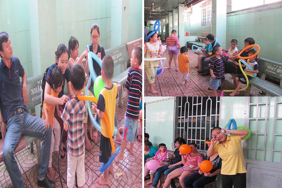 Việt Hà- từ thiện Thiện DUyên