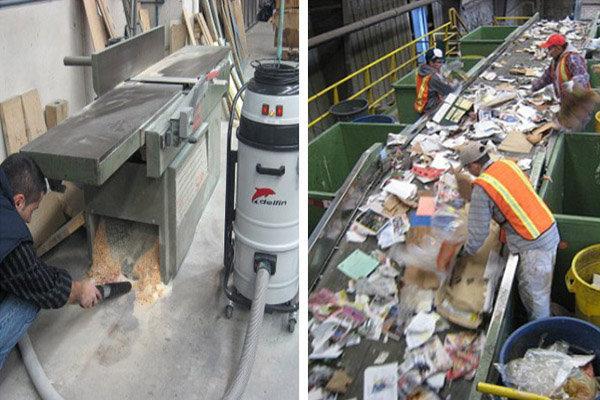 máy hút bụi công nghiệp công suất lớn DELFIN